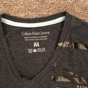 Calvin Klein Jeans Shirts - Calvin Klein Jeans Blue Short Sleeve T-Shirt M